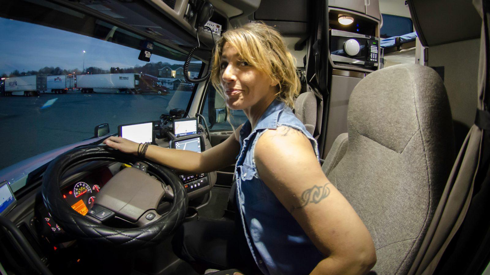 Shit Lesbian Truck Drivers Say